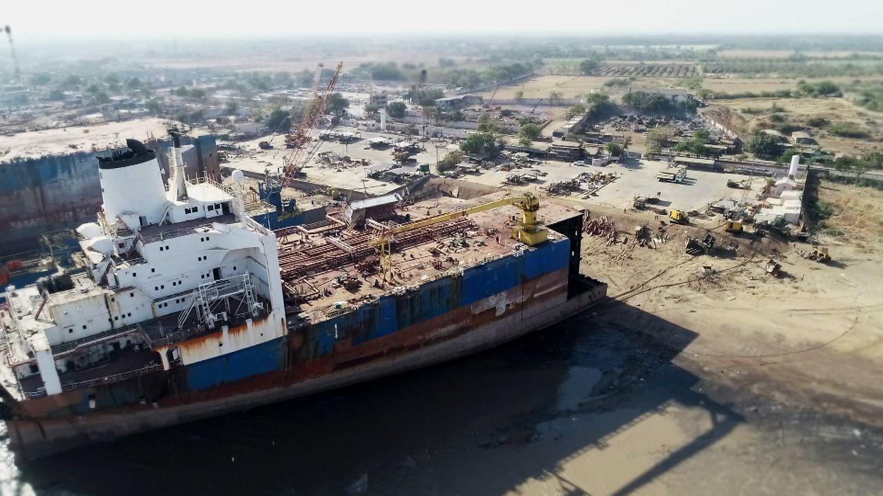 Gifschip van SBM Vura