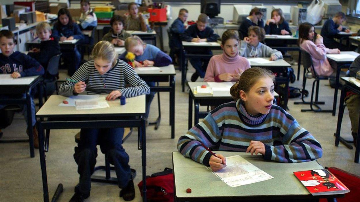 schoolklas ANP