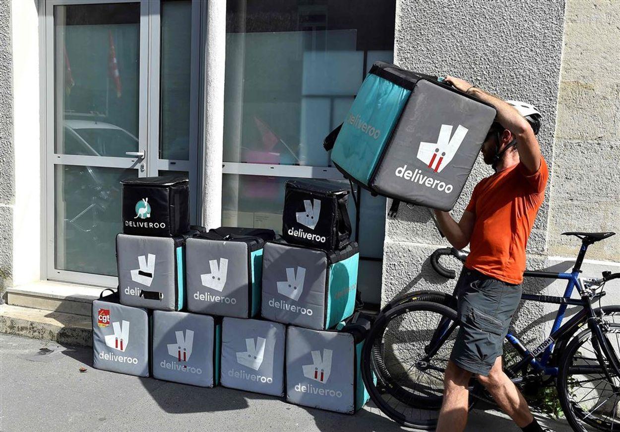 Afbeelding van Rechter: Deliveroo-bezorgers geen zzp'ers