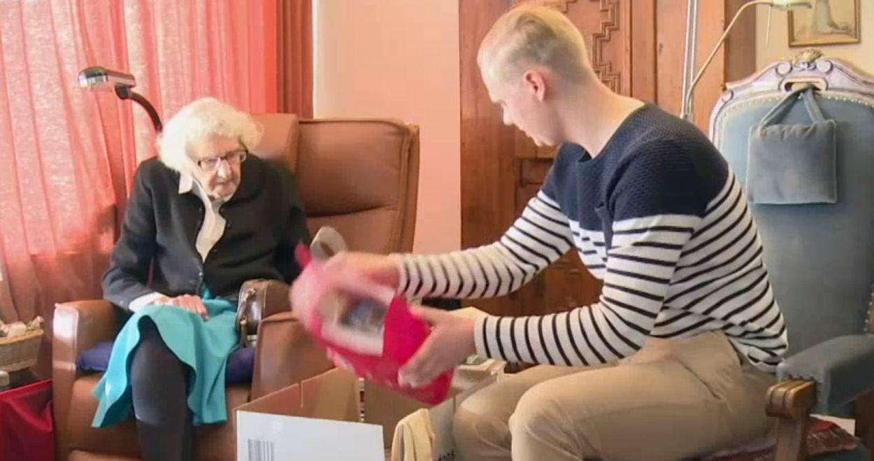 Afbeelding van Meerderheid ouderen staat open voor samenwonen met studenten