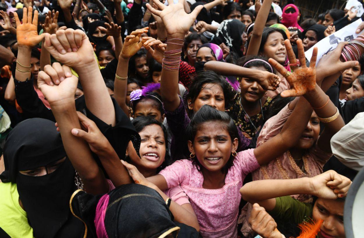 Afbeelding van Facebook verwijdert accounts topmilitairen Myanmar na beschuldigingen van genocide