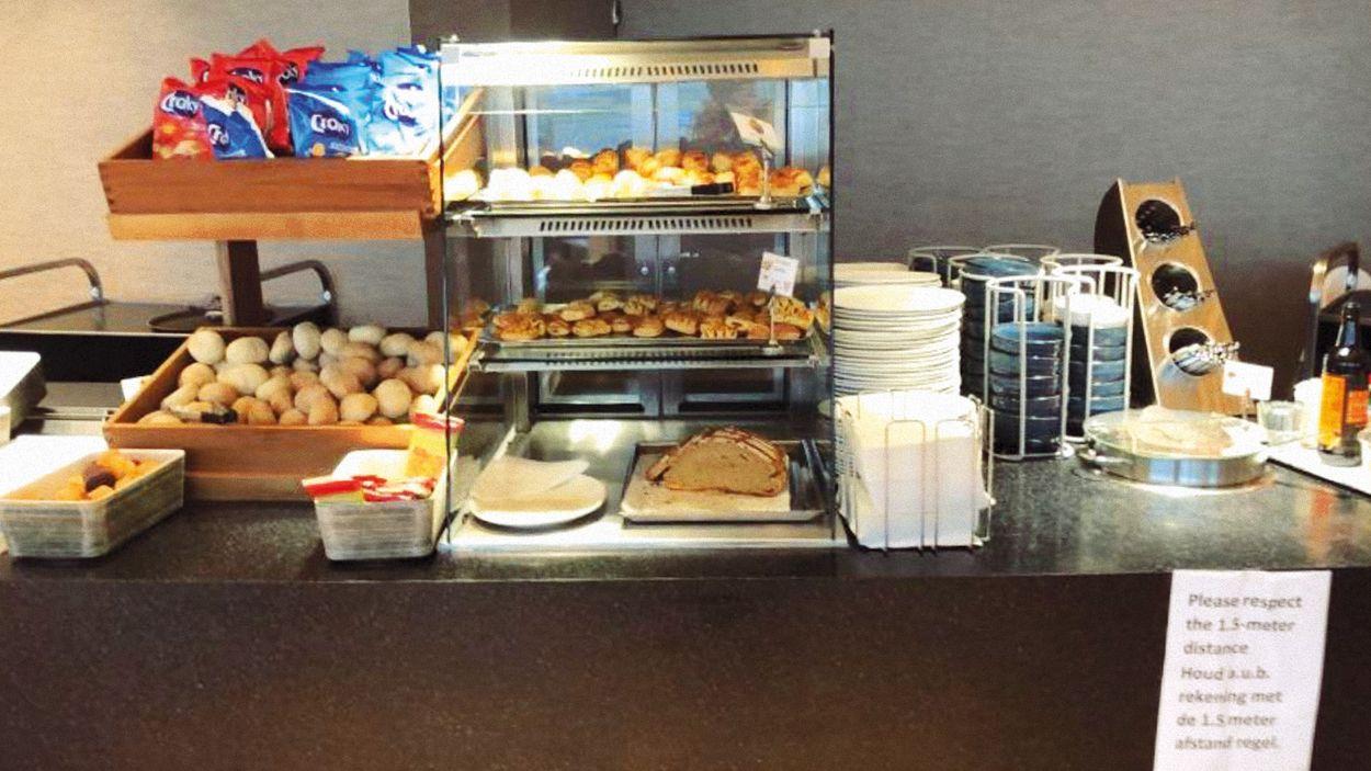 Afbeelding van Schiphol sluit buffet in Aspire lounge na klachten medewerkers