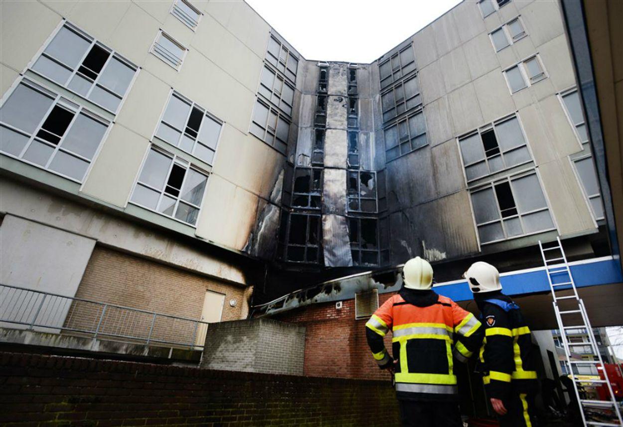 Brand seniorencomplex de notenhout nijmegen anp