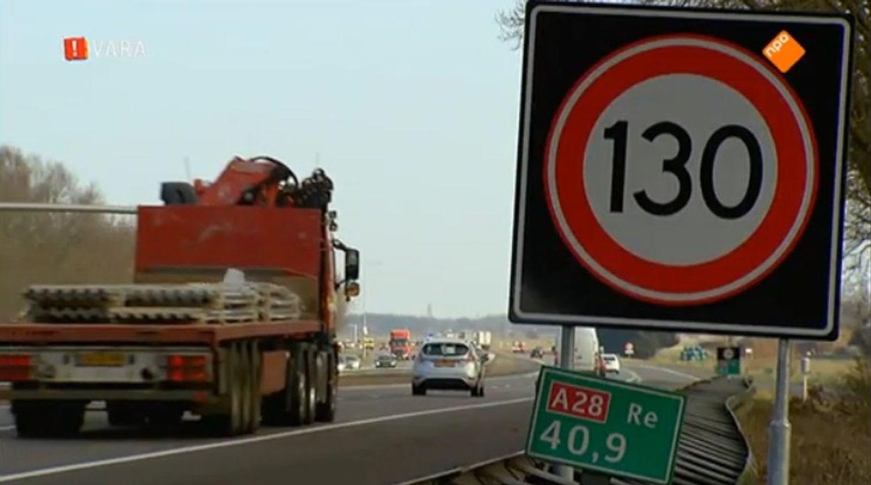 Afbeelding van Kritiek op RIVM-rapport over beperkte schade 130 kilometer per uur