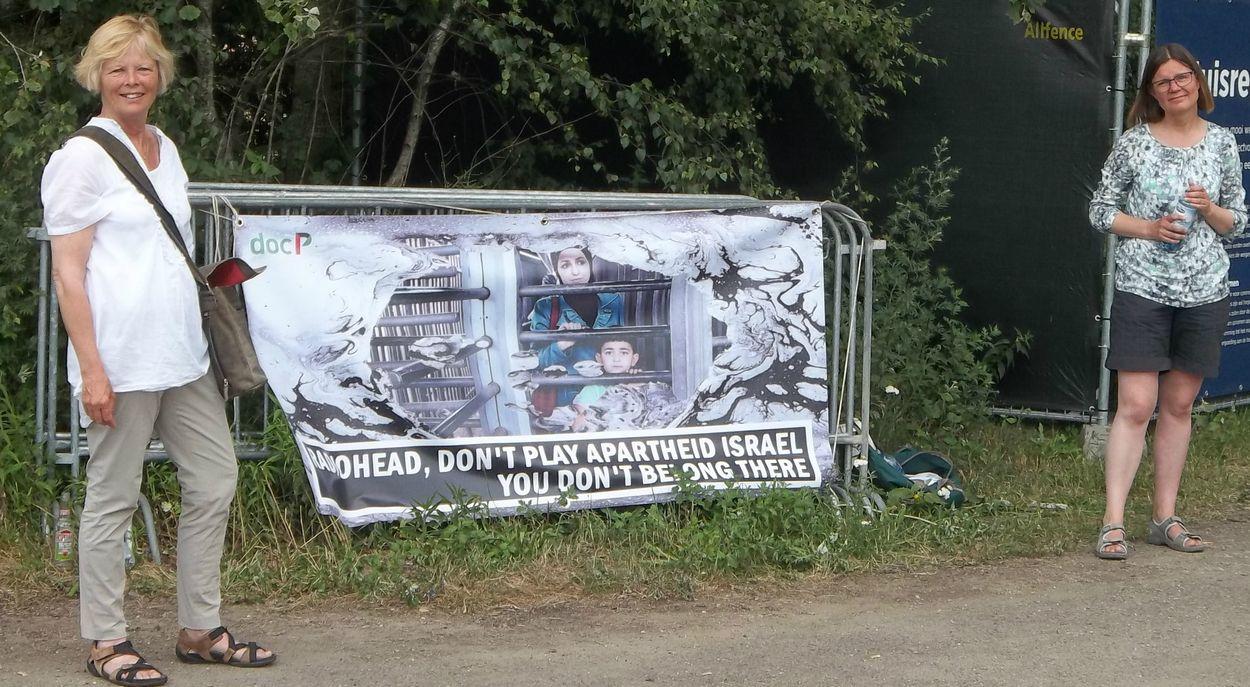 docP protest Radiohead