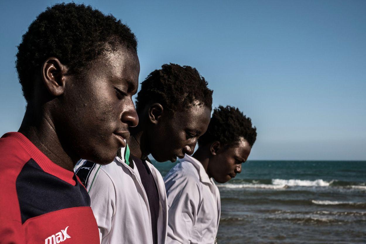 Afbeelding van 'We waren net slaven, aan het eind van de werkdag sloten ze ons op'