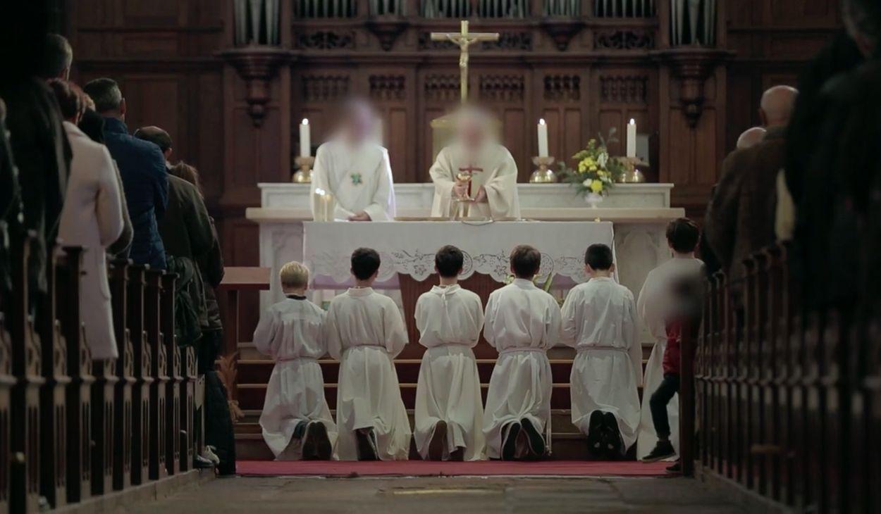 Afbeelding van Code stilzwijgen in de katholieke kerk