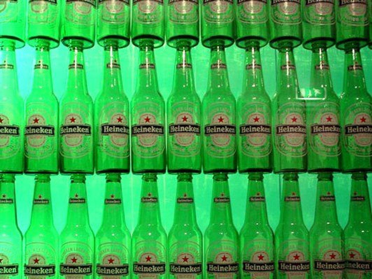 Afbeelding van De prijs van Heineken
