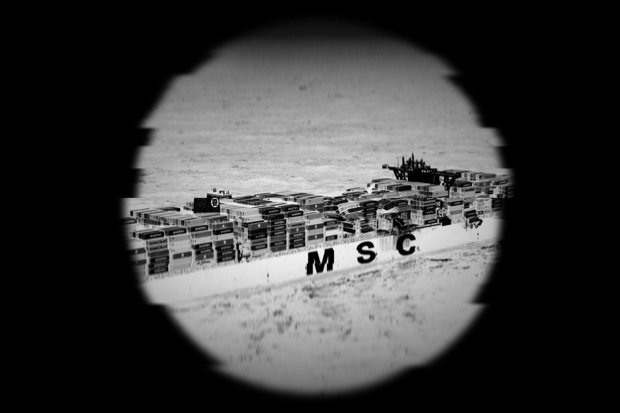 Afbeelding van Mankement aan zwarte doos containerschip MSC Zoe