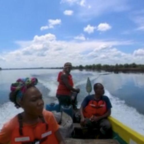 Afbeelding van Leven voor en na de olielekken van Shell in Nigeria