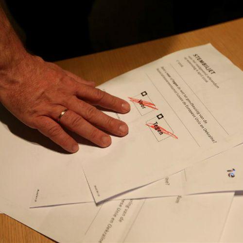 Afbeelding van Bindend referendum definitief van tafel
