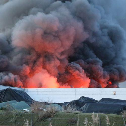 Afbeelding van Recyclingbedrijf Tuf meerdere keren bedreigd, brand mogelijk aangestoken