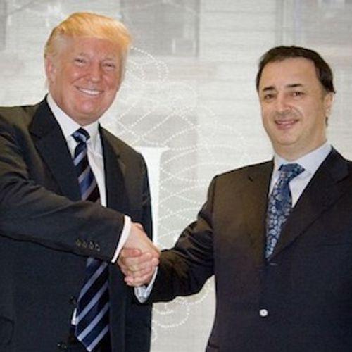 Afbeelding van De omstreden vrienden van Donald Trump II: King of Diamonds